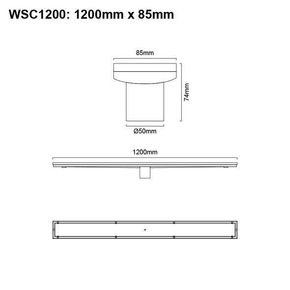 Tile Insert Channel 1200mm