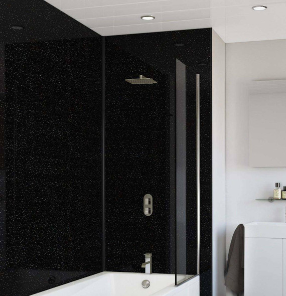 Black Sparkle - Wet Wall