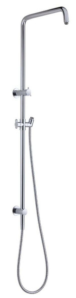 Round - Chrome Shower Column