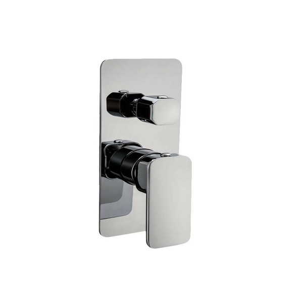 Fiona - Chrome Bath/Shower Mixer With Diverter
