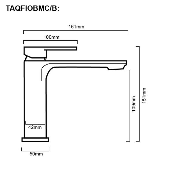 Fiona - Chrome Basin Mixer