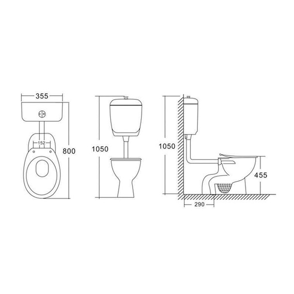 Disabled - Toilet Suite