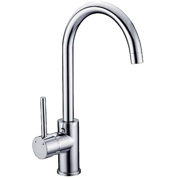 Neptune - Chrome Gooseneck Sink Mixer