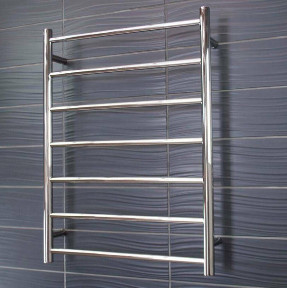 Heated Towel Rail - Round 7 Bar 600x800mm