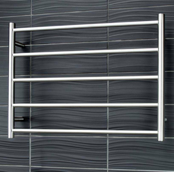 Heated Towel Rail - Round 5 Bar 750x550mm