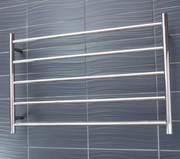 Heated Towel Rail - Round 5 Bar 950x600mm