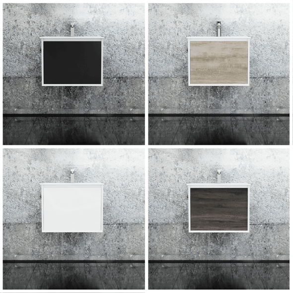 Fineline - Wall Hung Vanity and Top 600mm