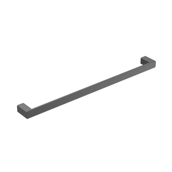 Fiona - Black Single Towel Rail 600mm
