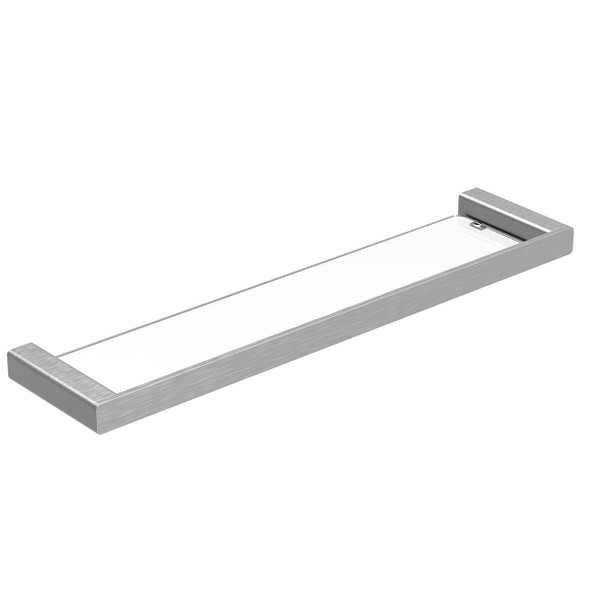 Fiona - Brushed Nickel Vanity Shelf