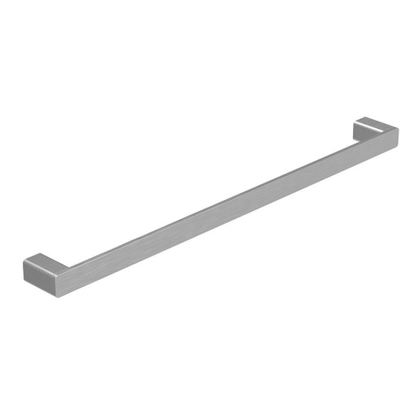 Fiona - Brushed Nickel Single Towel Rail 600mm