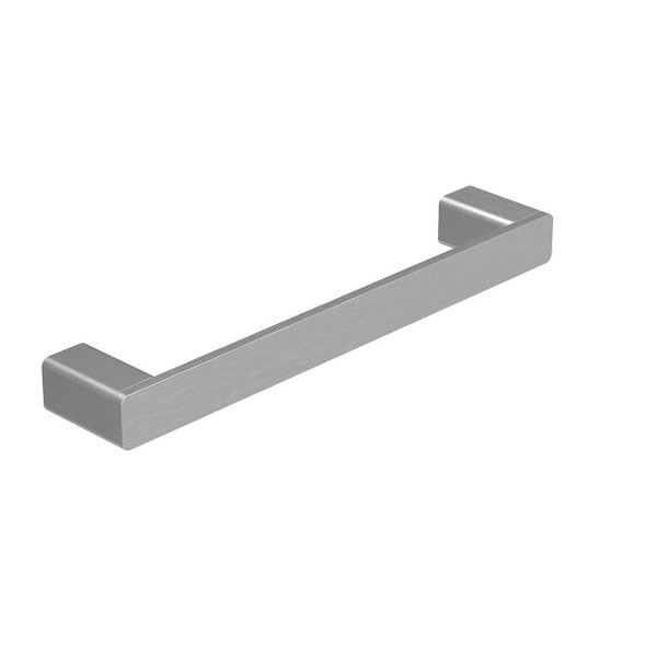 Fiona - Brushed Nickel Single Towel Rail 250mm