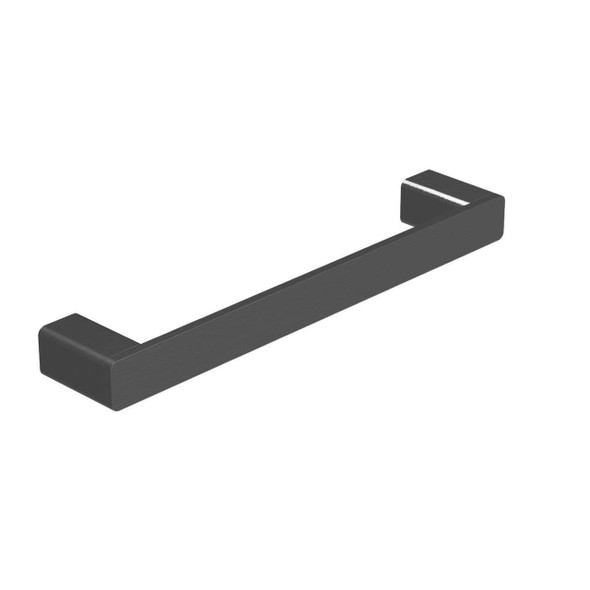 Fiona - Black Single Towel Rail 250mm