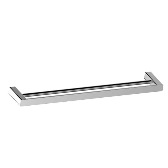 Fiona - Chrome Double Towel Rail 800mm