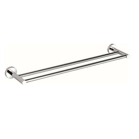 Sofia - Chrome Double Towel Rail 600mm