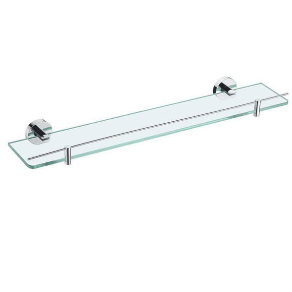 Sofia - Chrome Glass Vanity Shelf