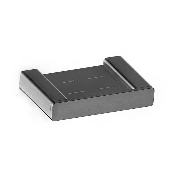 Fiona - Gun Metal Soap Dish
