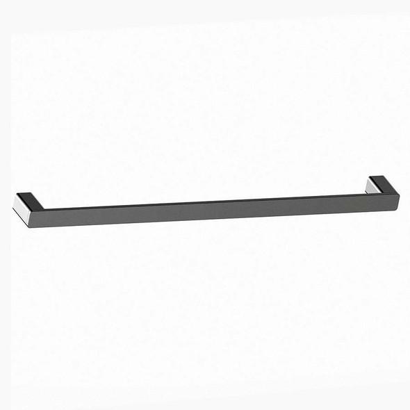 Fiona - Gun Metal Single Towel Rail 800mm