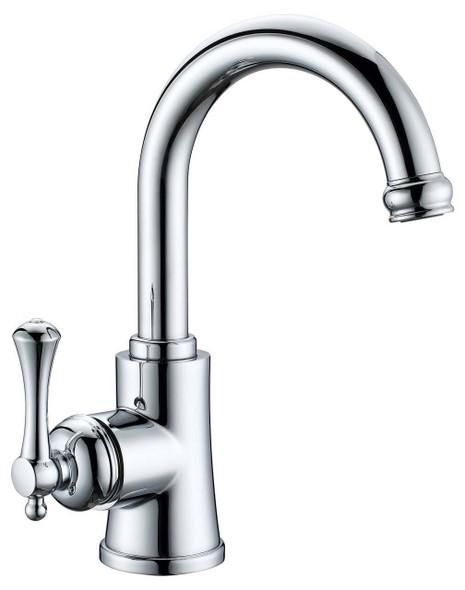 Roma - Chrome Gooseneck Basin Mixer