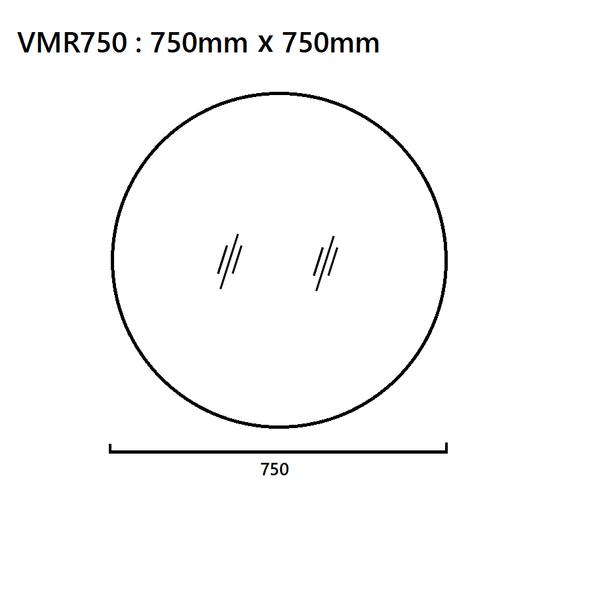 Round Mirror 750mm