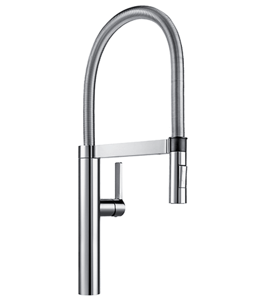 Blanco Culina - Brushed Chrome Veg Spray Sink Mixer