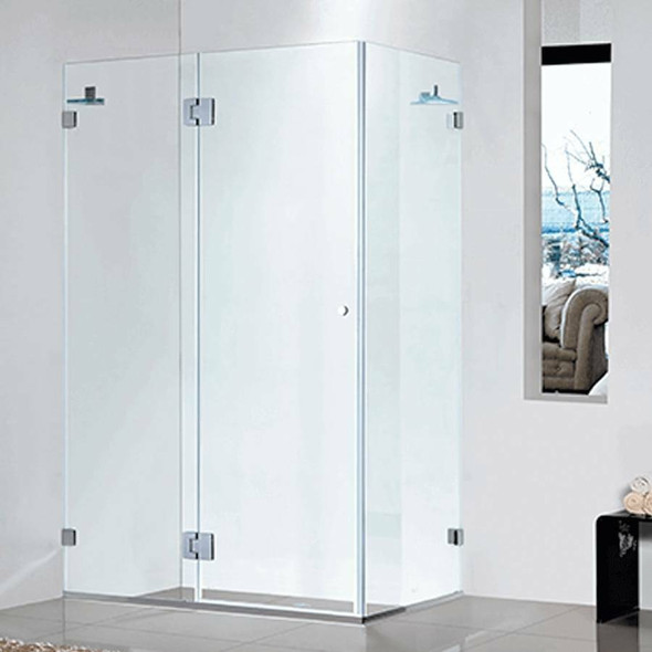 Frameless Shower Cubicle 1000mm