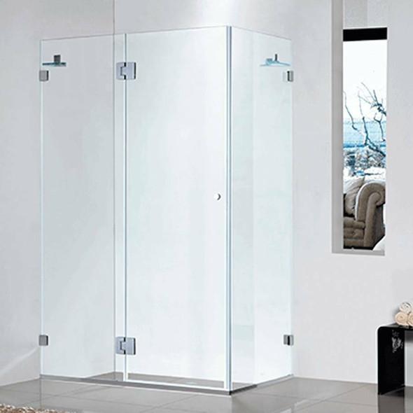 Frameless Shower Cubicle 900mm