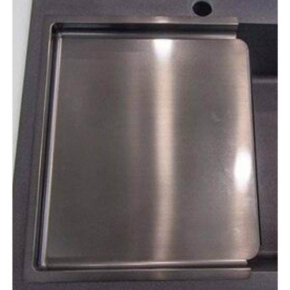 Quadro/Tech - Gun Metal Kitchen Drainer Tray