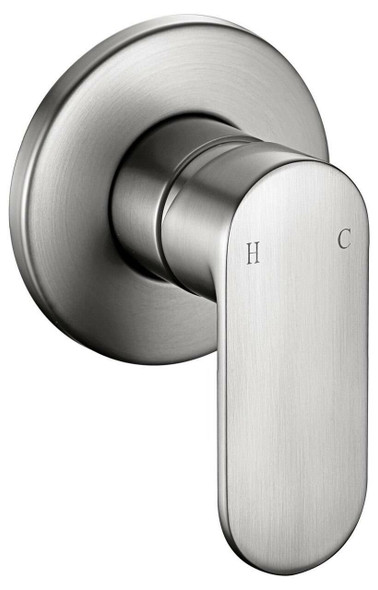 Venice - Brushed Nickel Bath/Shower Mixer