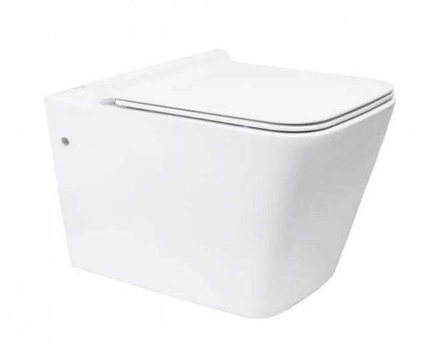 Napa - Rimless Wall Hung Nano Glaze Toilet
