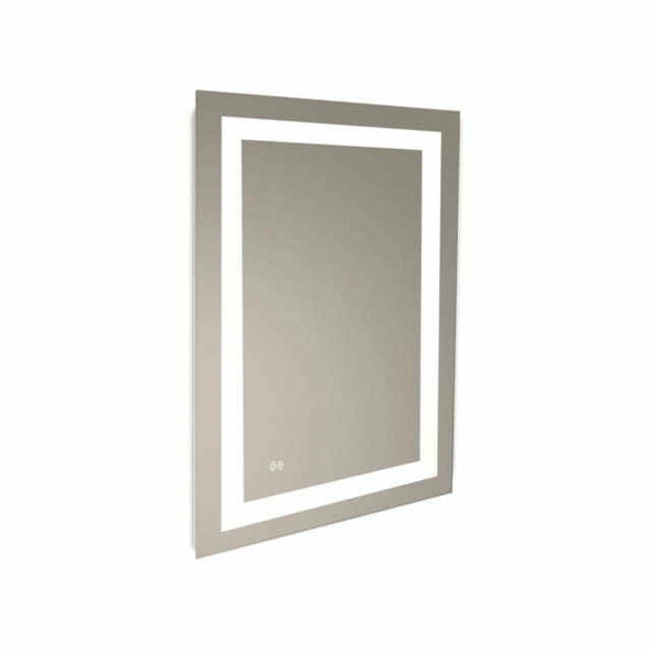 LED Mirror Rectangular Sensor Reversible 600mm