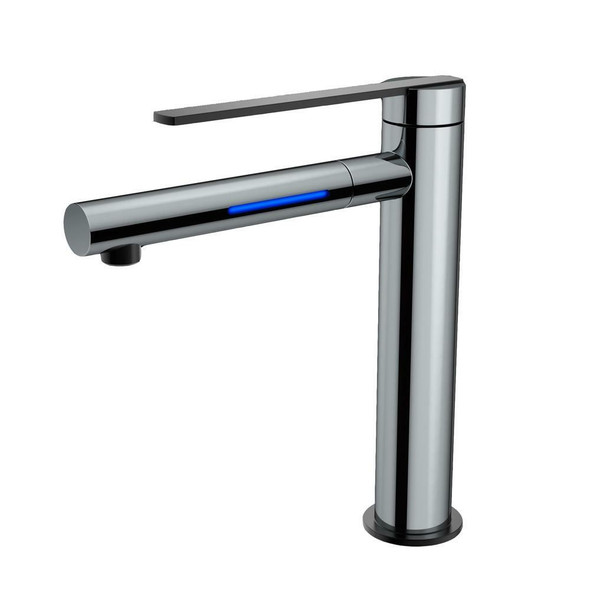 Sofia - Chrome Extended Basin Mixer LED