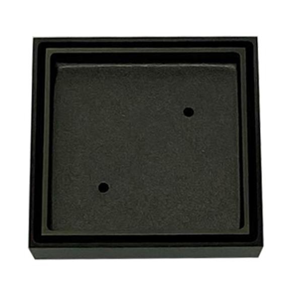 Tile Insert Grate 100mm x 50mm Gun Metal