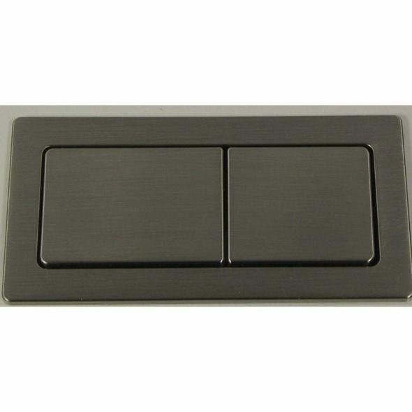 Flush Button Kit Brushed Nickel