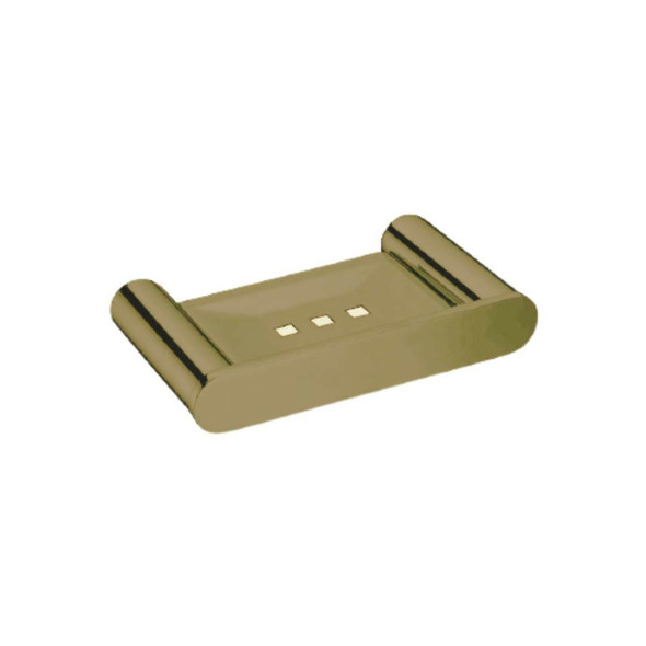 Saturn - Brushed Gold Soap Dish
