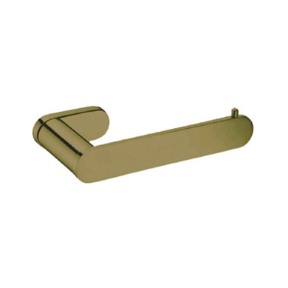 Saturn - Brushed Gold Toilet Roll Holder
