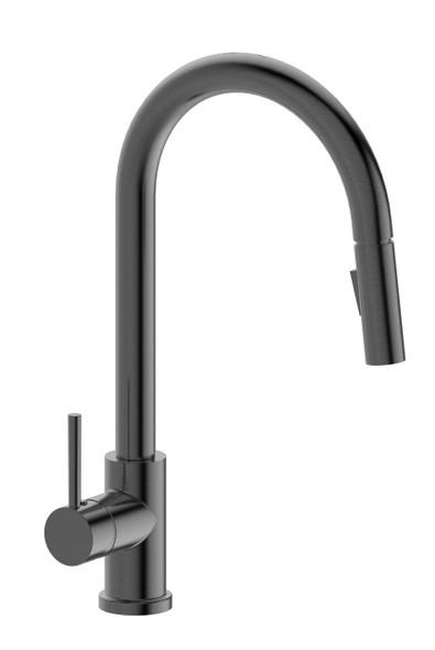 Jasper - Gun Metal Pullout Sink Mixer