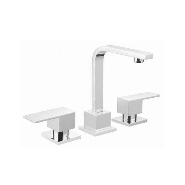 Square - Chrome Basin Set