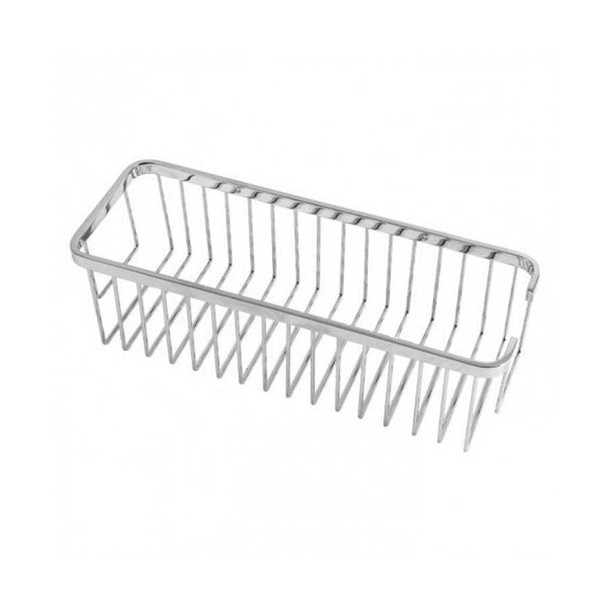 Roma - Chrome Rectangular Basket