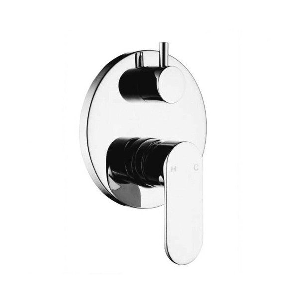 Venice - Chrome Bath/Shower Mixer With Diverter