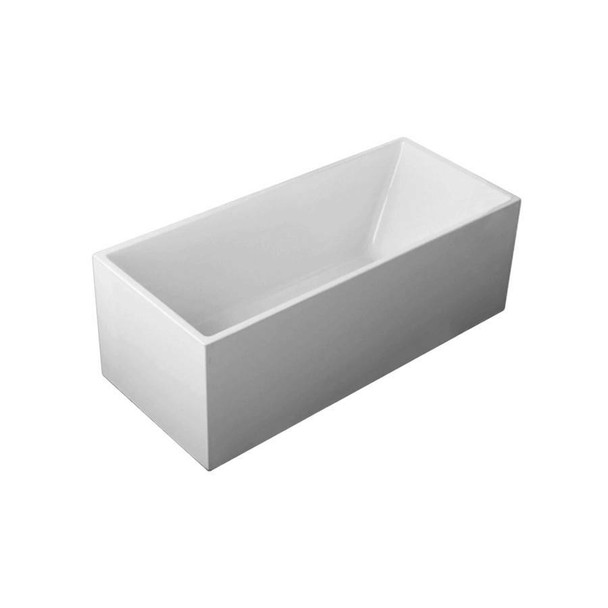 Emily - White Freestanding Bath 1700mm