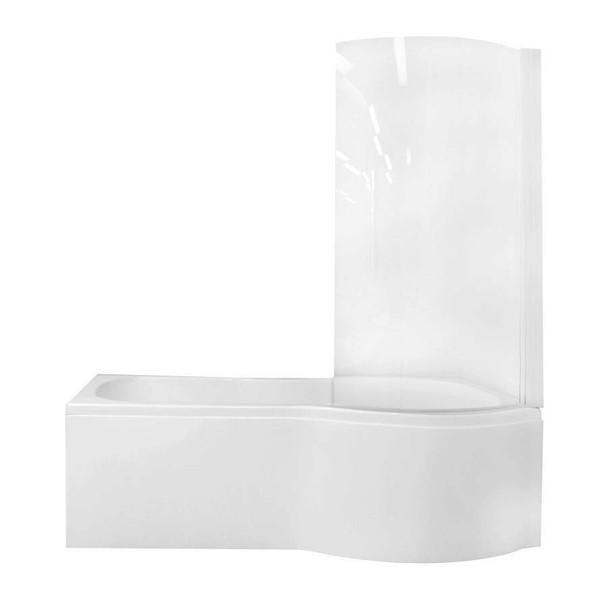 Pompeii - White P-Bath Right Hand