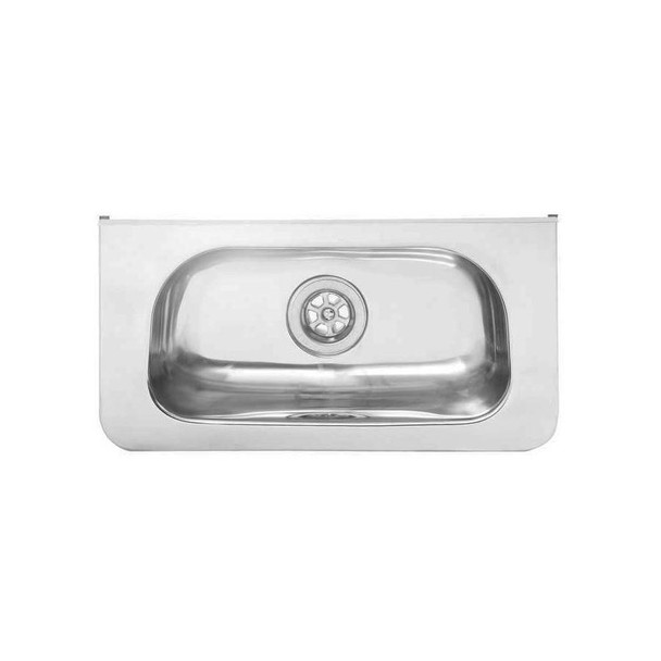 Small Wall Hung Stainless Steel Hand Basin