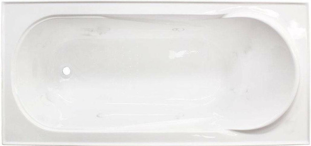 Madison - White Inset Bath 1650mm