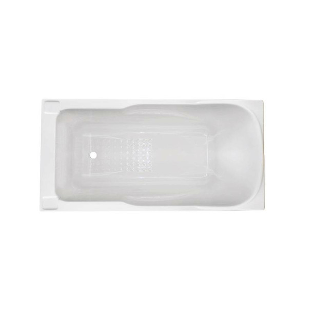 Gilly - White Inset Bath 1380mm