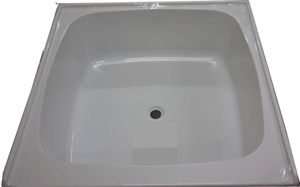 Tilley - White Shower Base/Hip Bath