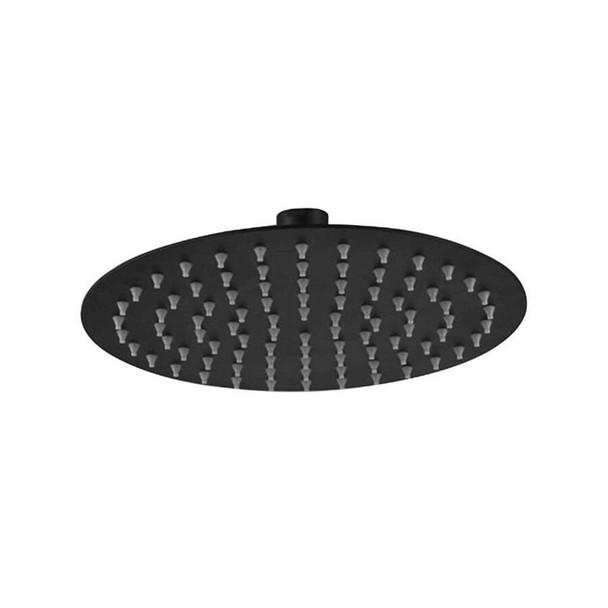 Ruby - Black Stainless Steel Shower Head 200mm