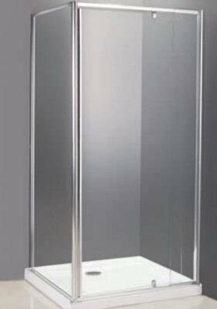 Alcove Shower Cubicle With Return 1200mm