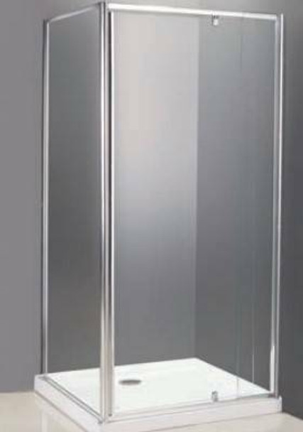 Alcove Shower Cubicle With Return 800mm