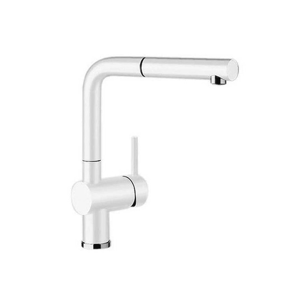 Blanco Linus - White Pullout Sink Mixer