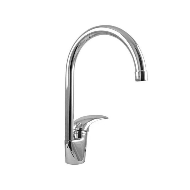 Aquila - Chrome Gooseneck Sink Mixer